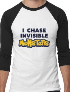 Pokemon Go I Chase Invisible Monsters Men's Baseball ¾ T-Shirt