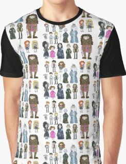 Harry Potter Cast Graphic T-Shirt