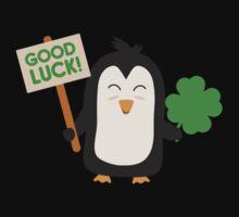 Good Luck Penguin Kids Tee