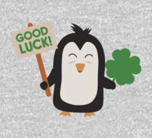 Good Luck Penguin One Piece - Long Sleeve