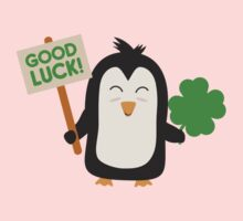 Good Luck Penguin Kids Tee