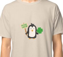 Good Luck Penguin Classic T-Shirt