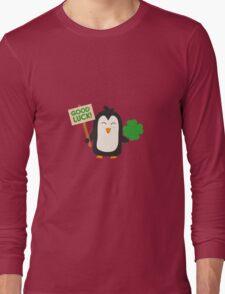 Good Luck Penguin Long Sleeve T-Shirt