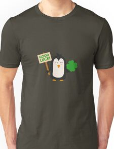 Good Luck Penguin Unisex T-Shirt