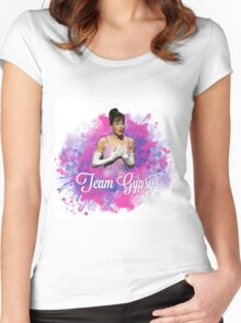 Team Gypsy colour splash Women's Fitted Scoop T-Shirt