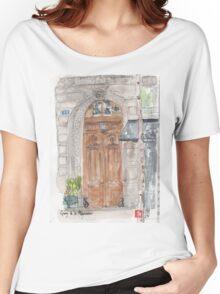 Paris door Women's Relaxed Fit T-Shirt