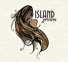Island Grown Tapa Zipped Hoodie