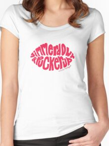 Do I Wanna Know?: Simmer Down Women's Fitted Scoop T-Shirt