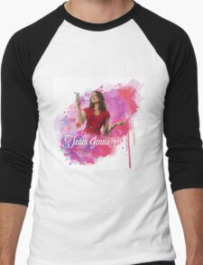 Team Jenna colour splash Men's Baseball ¾ T-Shirt