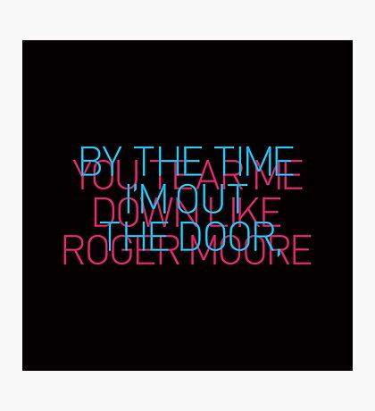 Roger Photographic Print
