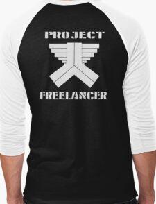 Project Freelancer Men's Baseball ¾ T-Shirt