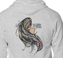 Island Grown Rainbow Zipped Hoodie