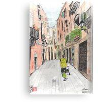 Barcelona - El Born Neighborhood Canvas Print