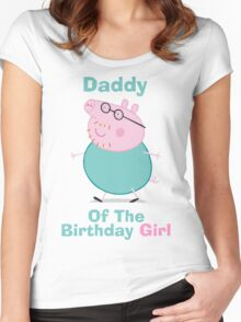 Daddy (HBD) girl Women's Fitted Scoop T-Shirt