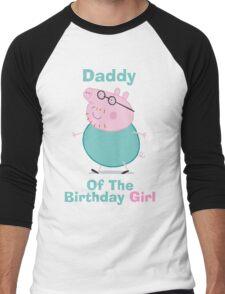 Daddy (HBD) girl Men's Baseball ¾ T-Shirt
