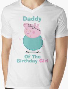 Daddy (HBD) girl Mens V-Neck T-Shirt