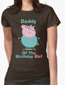 Daddy (HBD) girl Womens Fitted T-Shirt