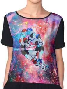 Lost in Space~  Chiffon Top