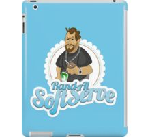Rand Al SoftServe iPad Case/Skin
