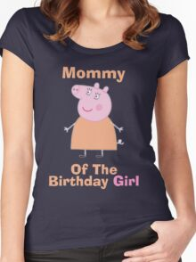 Mommy (HBD) Women's Fitted Scoop T-Shirt