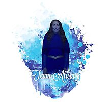 Team Alura colour splash Photographic Print