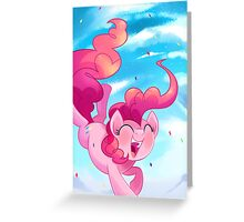 Pinkie Pie Surprise Greeting Card