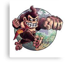 Donkey Kong is Here! Metal Print