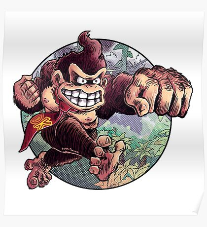 Donkey Kong is Here! Poster