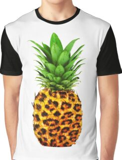 Cheetah Pineapple Graphic T-Shirt