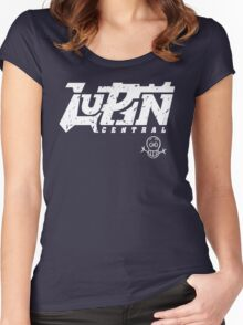 Lupin Central - Vintage Seal Women's Fitted Scoop T-Shirt