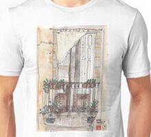 Barcelona Terrace in El Born Unisex T-Shirt