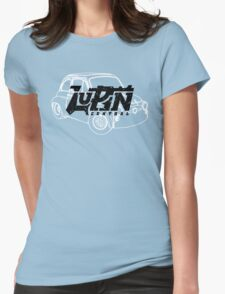 Lupin Central - Fiat 500 Womens Fitted T-Shirt