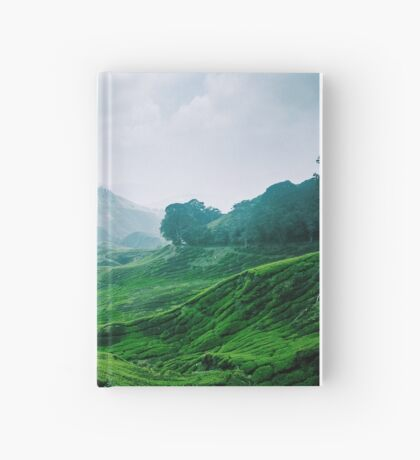 Tea Plantation, Malaysia. Hardcover Journal