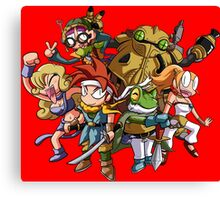 Chrono Party Canvas Print