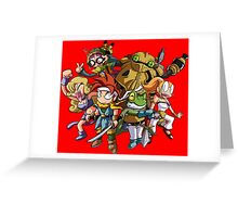 Chrono Party Greeting Card