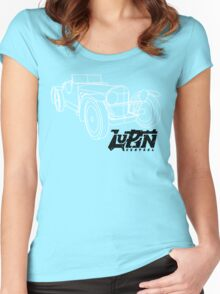 Lupin Central - SSKL on the road! Women's Fitted Scoop T-Shirt