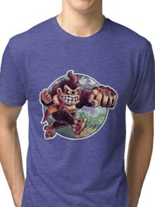 Donkey Kong is Here! Tri-blend T-Shirt