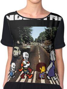 Undertale Abbey Road Chiffon Top