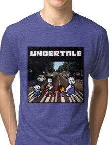 Undertale Abbey Road Tri-blend T-Shirt