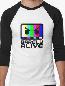 Barely Alive Color Men's Baseball ¾ T-Shirt