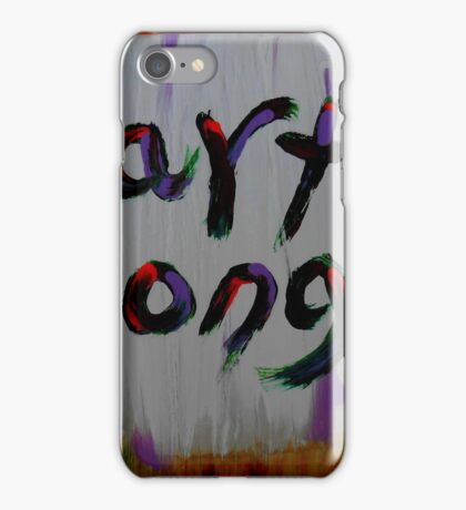 earth songs iPhone Case/Skin