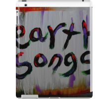 earth songs iPad Case/Skin