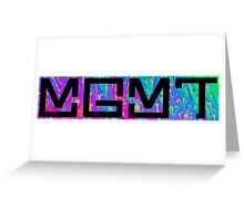 MGMT Psychedelic Logo  Greeting Card