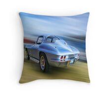 Speed,Style,......And Beauty ( 63 Vette ) Throw Pillow