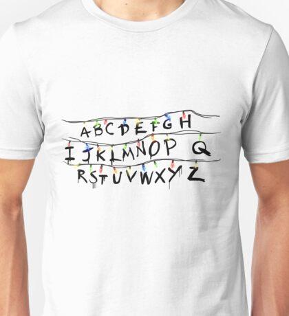 Stranger Lights  Unisex T-Shirt