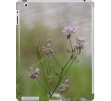 Crown Vetch by the lake iPad Case/Skin