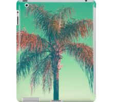 Red palm tree iPad Case/Skin