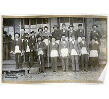 Milburn Masonic Lodge Members, J.N. Sanford's Dry Goods & Grocery, Milburn, Kentucky Poster