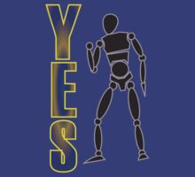 Yes! Fist pump - bright by bodTees