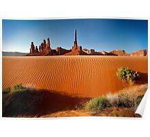 Totem Pole Sands Poster